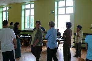groupe de stagiaires lors d'un module de Logothérapie